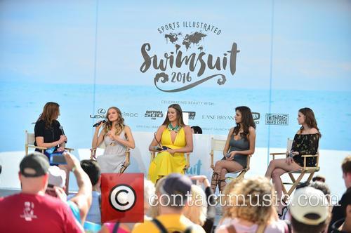 Guest, Tanya Mityushina, Robyn Lawley, Bo Krsmanovic and Barbara Palvin 1