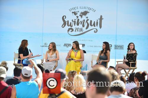 Guest, Tanya Mityushina, Robyn Lawley, Bo Krsmanovic and Barbara Palvin 2