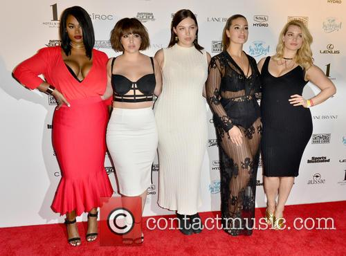Precious Lee, Denise Bidot, Georgia Pratt, Ashley Graham and Tara Lynn 1