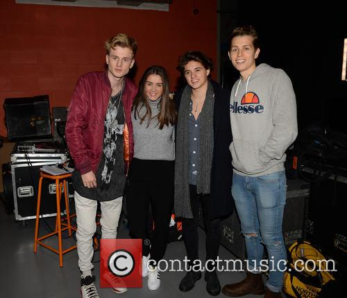 The Vamps and Brooke Vincent 1