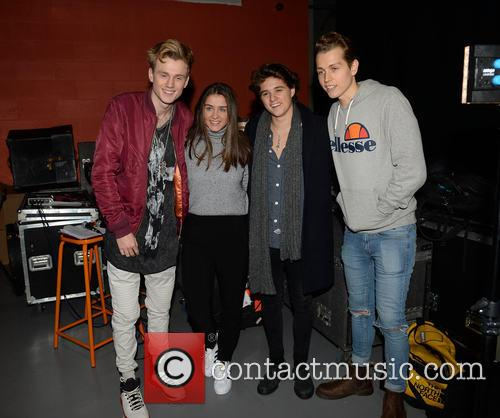 The Vamps and Brooke Vincent 2