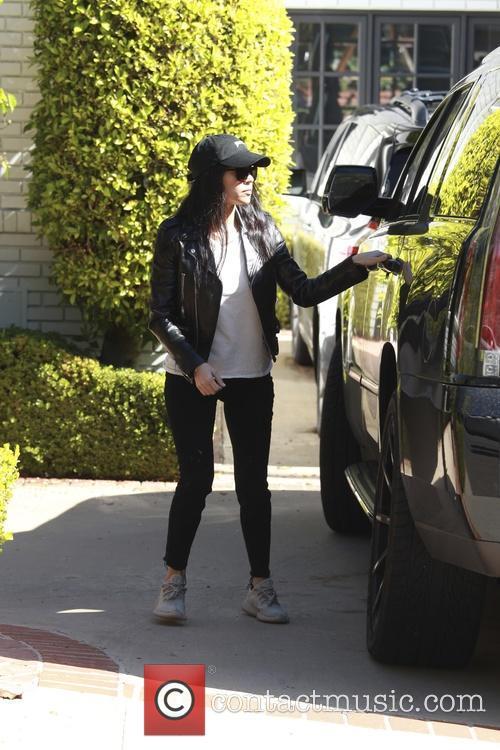 Kourtney Kardashian, Reign Aston Disick and Penelope Scotland Disick 4