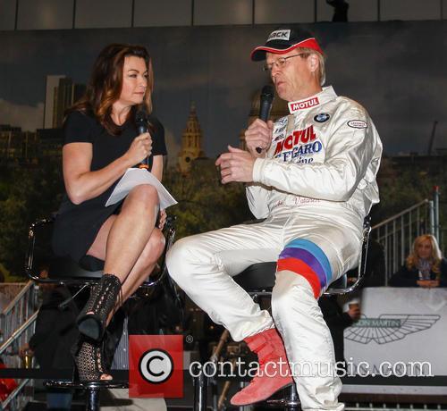 Suzi Perry and Ari Vatanen 1