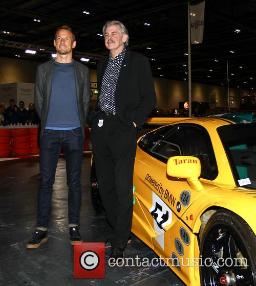 Jensen Button and Gordon Murray 4