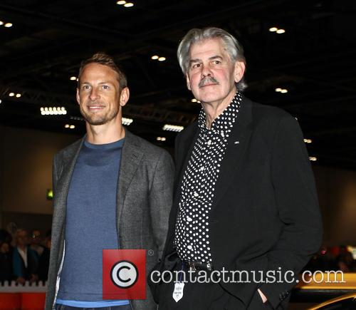 Jensen Button and Gordon Murray 5