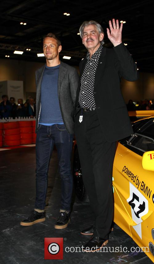 Jensen Button and Gordon Murray 6