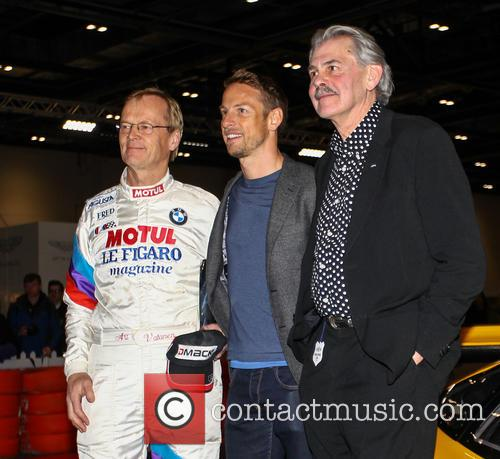 Ari Vatanen, Jensen Button and Gordon Murray 1