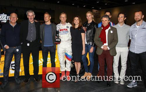 Jensen Button, Jodie Kidd, Suzi Perry, Gordon Murray, Ari Vatanen, Bruno Senna, Jonny Smith, Tom Ford and Alan De Cadanet 7