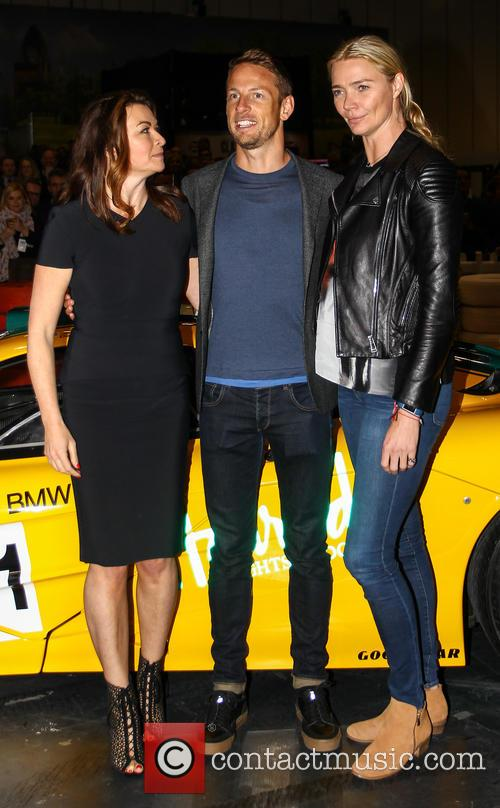 Jensen Button, Jodie Kidd and Suzi Perry 8