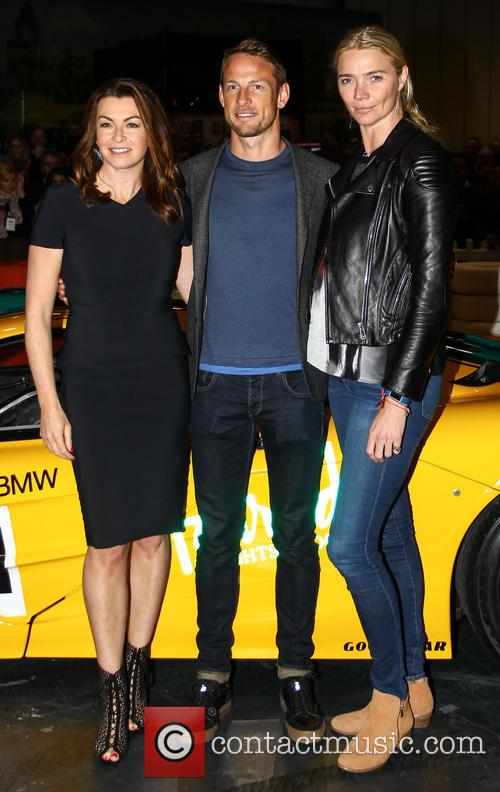 Jensen Button, Jodie Kidd and Suzi Perry 9