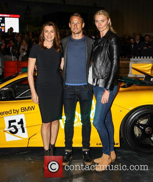 Jensen Button, Jodie Kidd and Suzi Perry 10