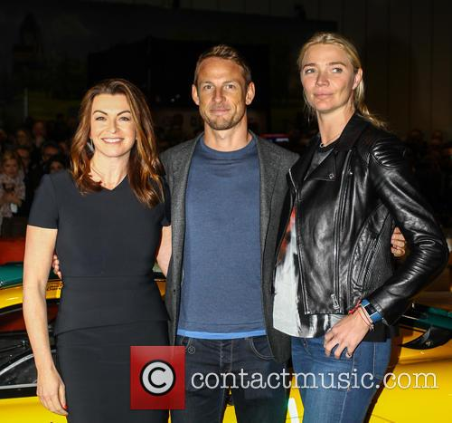 Jensen Button, Jodie Kidd and Suzi Perry 11