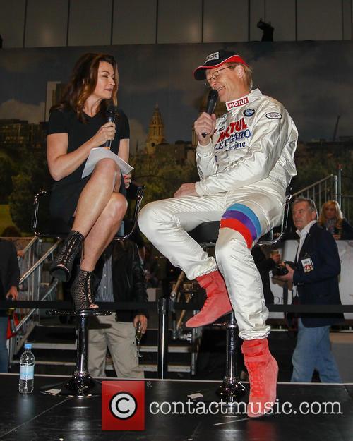 Suzi Perry and Ari Vatanen 10