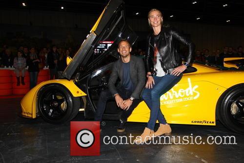 Jensen Button and Jodie Kidd 1