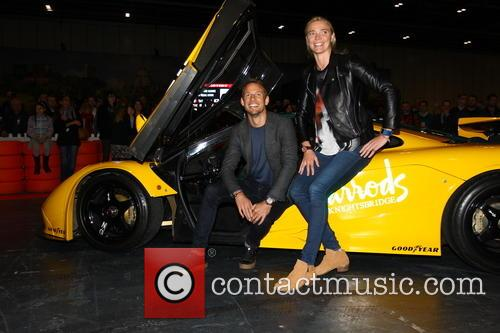 Jensen Button and Jodie Kidd 2