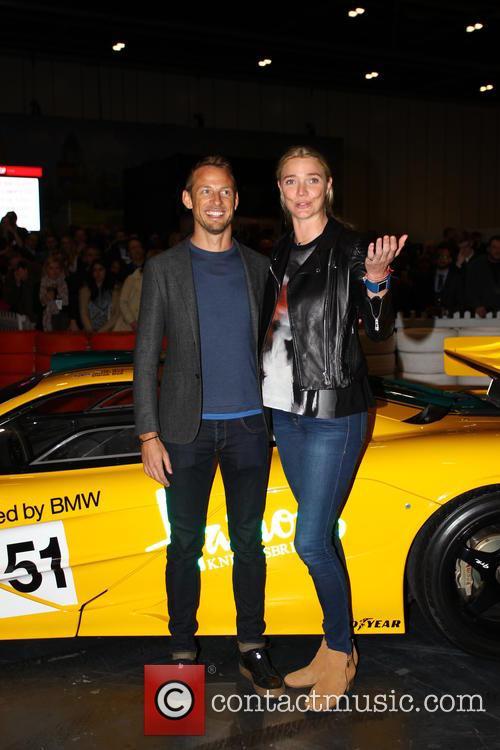 Jensen Button and Jodie Kidd 4