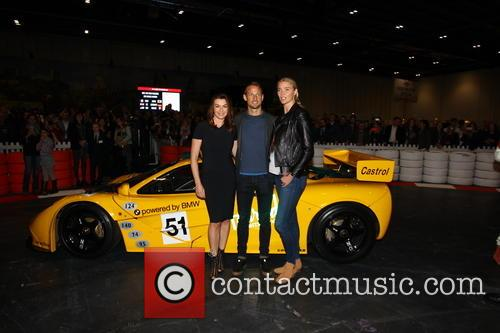 Suzi Perry, Jensen Button and Jodie Kidd 2