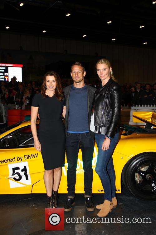 Suzi Perry, Jensen Button and Jodie Kidd 4