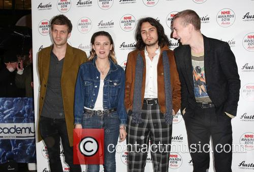 Wolf Alice, Theo Ellis, Ellie Roswell and Joff Oddie 1