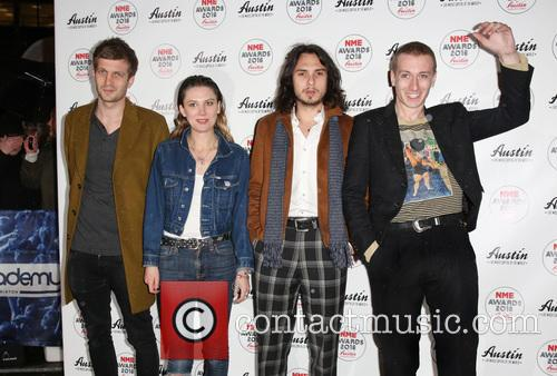 Wolf Alice, Theo Ellis, Ellie Roswell and Joff Oddie 2