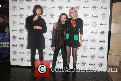 Jacob Faber, Julia Cumming and Nick Kivlen Of Sunflower Bean 1