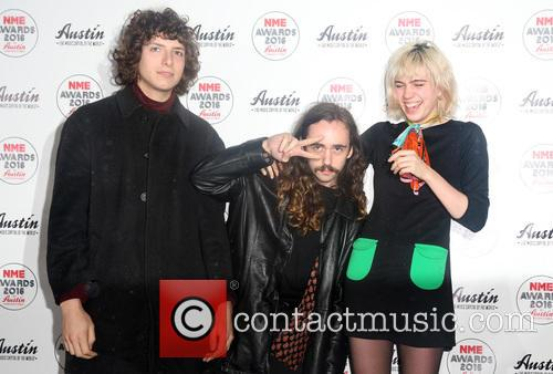 Jacob Faber, Julia Cumming and Nick Kivlen Of Sunflower Bean 2