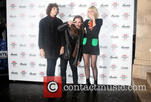 Jacob Faber, Julia Cumming and Nick Kivlen Of Sunflower Bean 3