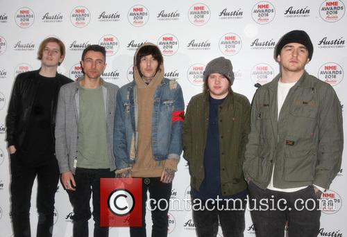 Bring Me The Horizon, Matt Kean, Jordan Fish, Oliver Sykes and Lee Malia 1