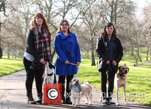 Sophie Pearman, Scooby, Rosie Reid, Boo, Louise Jacobs and Teddy Bear 4