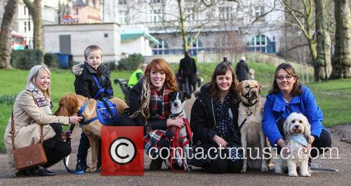 Sophie Pearman, Scooby, Rosie Reid, Boo, Louise Jacobs, Teddy Bear, Cohen Hadfield, Azerley and Sarah Hadfield 11
