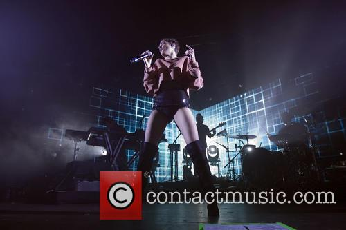 Halsey performs at O2 Academy Glasgow