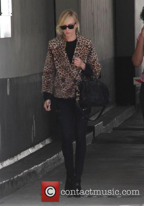 Kimberly Stewart out running errands in Beverly Hills