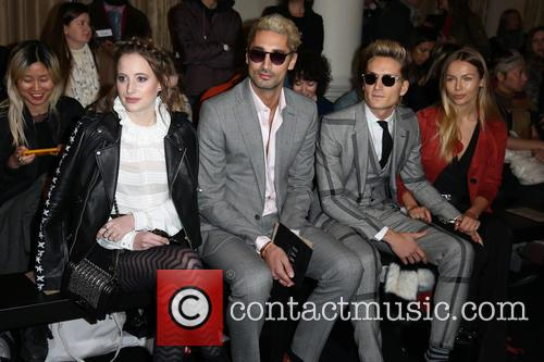 Rosie Fortescue, Hugo Taylor, Oliver Proudlock and Emma Louise Connolly 3