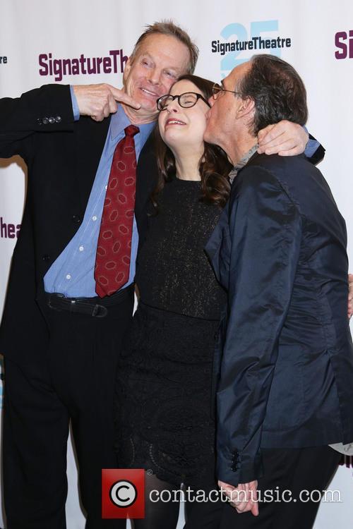 Bill Irwin, Shaina Taub and David Shiner 1