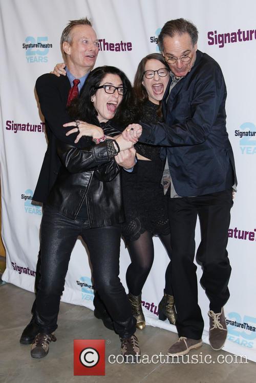 Bill Irwin, Tina Landau, Shaina Taub and David Shiner 2
