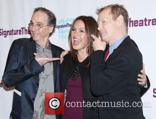 David Shiner, Mariska Hargitay and Bill Irwin 3