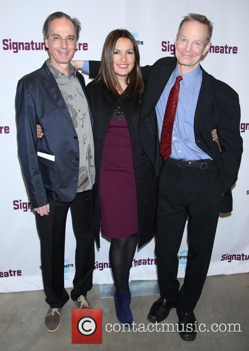 David Shiner, Mariska Hargitay and Bill Irwin 4