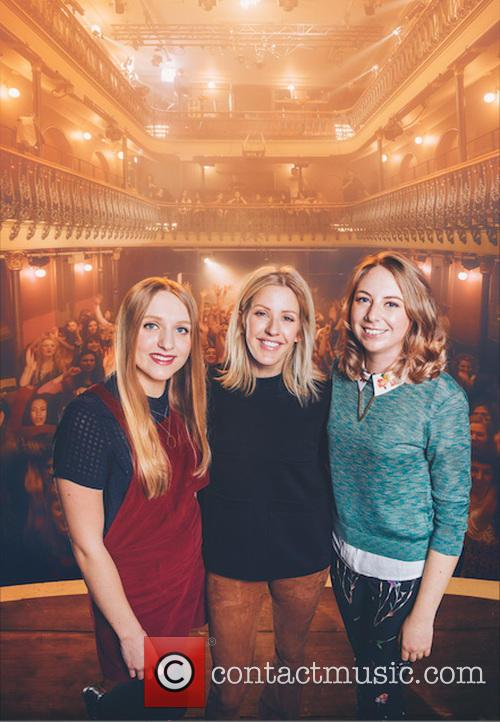 Martha, Lucy and Ellie Goulding 1