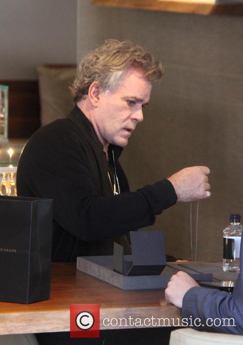 Ray Liotta goes shopping at David Yurman in...