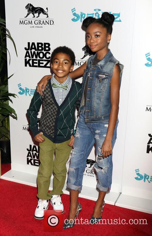 Miles Brown and Skai Jackson 3
