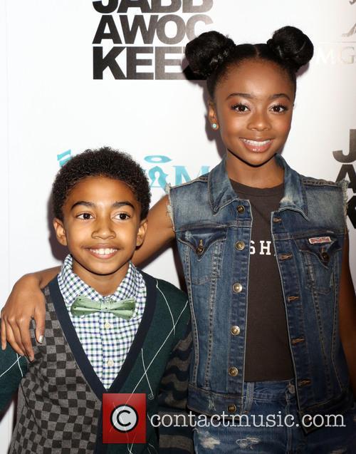 Miles Brown and Skai Jackson 4