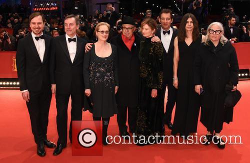 Meryl Streep, Dieter Kosslick, Nick James, Clive Owen, Lars Eidinger, Alba Rohrwacher, Brigitte Lacombe and Małgorzata Szumowska 5