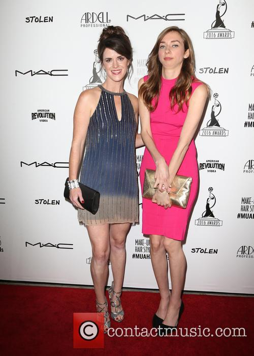 Marie Holland and Lauren Lapkus 1