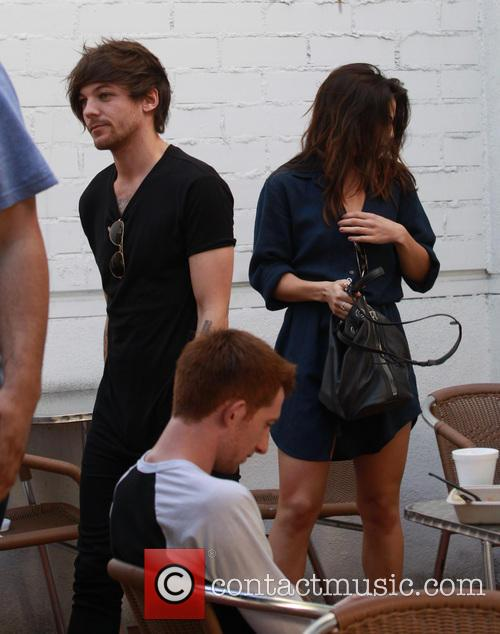 Louis Tomlinson and Danielle Campbell 6