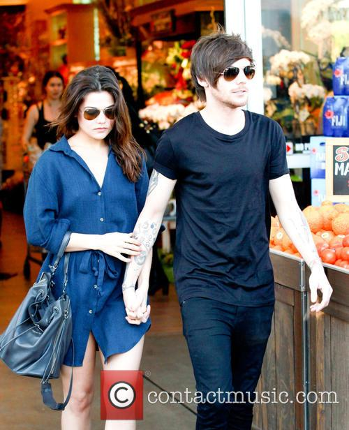 Louis Tomlinson and Danielle Campbell 9