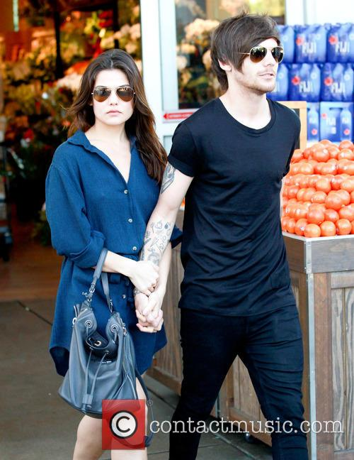 Louis Tomlinson and Danielle Campbell 10