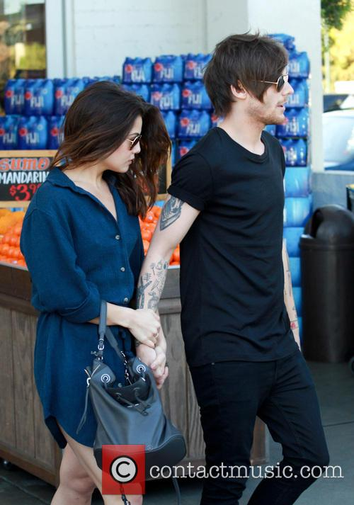 Louis Tomlinson and Danielle Campbell 11