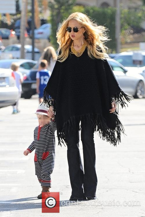 Rachel Zoe and Kaius Jagger Berman 1