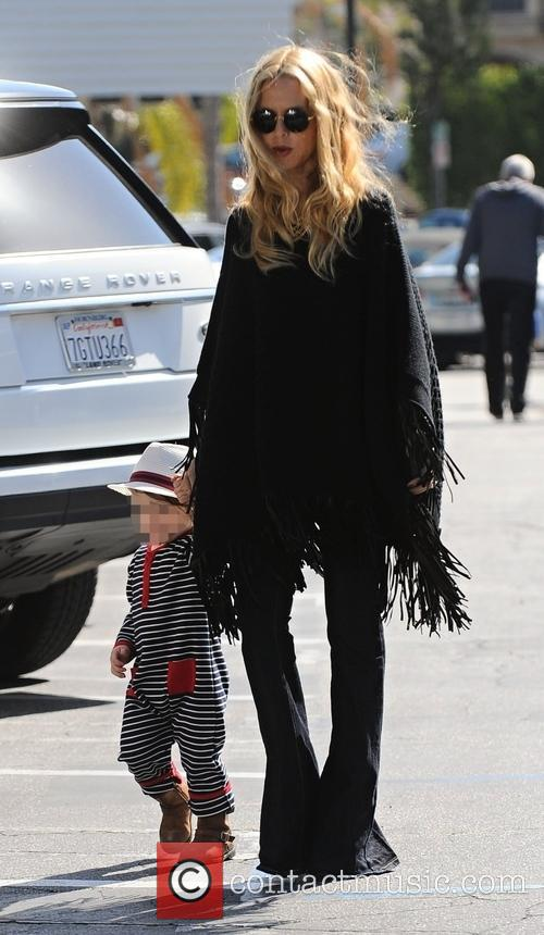 Rachel Zoe and Kaius Jagger Berman 6