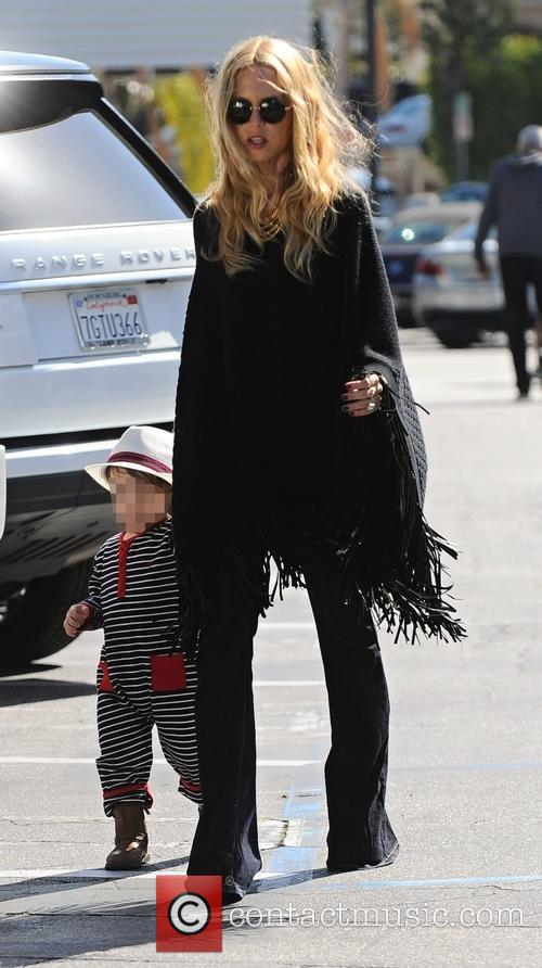 Rachel Zoe and Kaius Jagger Berman 7